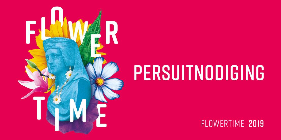PERSUITNODIGING FLOWERTIME 2019