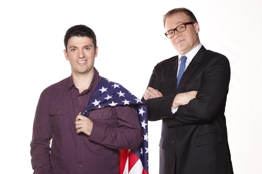 Chas Licciardello and  John Barron - Planet America