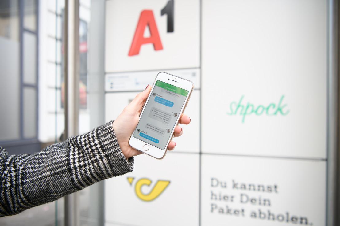 Erste A1 Paket Stationen gehen in Betrieb