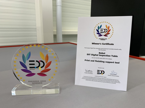 BOBST celebrates double win at this year's EDP Awards