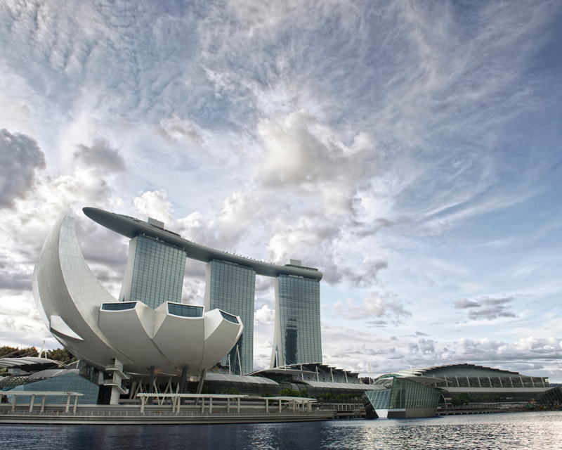 ArtScience Museum en Singapur sede de Future World.