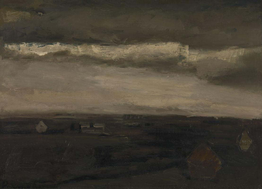 Landschap, Constant Permeke, c. 1938–1943 © Lukas - Art in Flanders, foto Dominique Provost