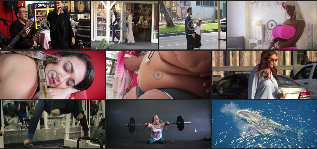 Isopix's videos take you back stage in Hollywood