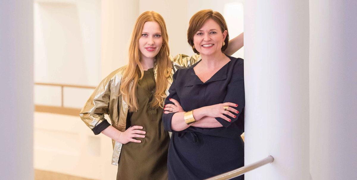 Clara De Decker en Katelijne Boon - (c) VRT / Joost Joossen