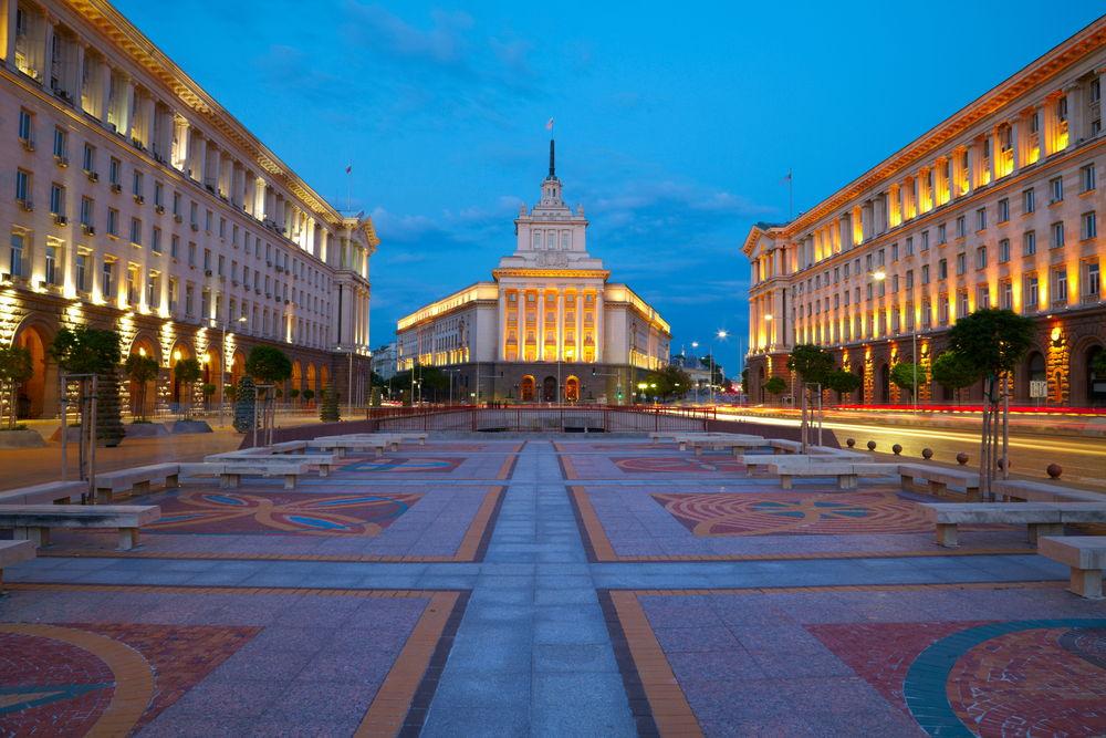 City centre of Sofia, Bulgaria