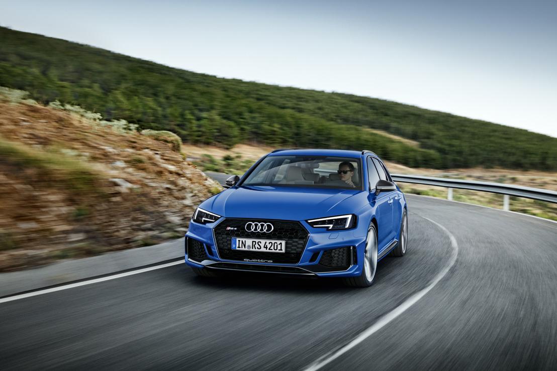 Le retour de l'emblématique RS : la nouvelle Audi RS 4 Avant