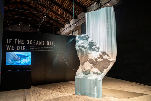 PARLEY FOR THE OCEANS DEBUT AT THE 17th INTERNATIONAL ARCHITECTURE EXHIBITION - LA BIENNALE DI VENEZIA WITH PLASTICITY