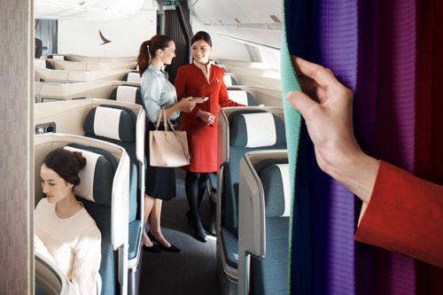 'fanfares' upgraded with new premium offers  Cathay Pacific and Dragonair to introduce Business and Premium Economy Class 'fanfares' offering customers more travel choices