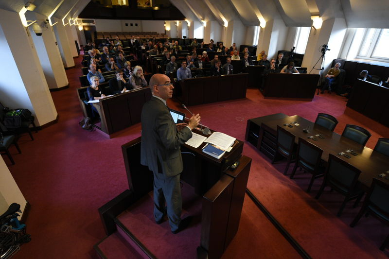 Jo Swyngedouw, chef de la politique prudentielle et stabilité financière pour la Banque Nationale de Belgique, explique