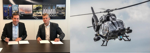 Thales und Rheinmetall Waffe Munition arbeiten in Deutschland bei gelenkten und ungelenkten Raketen zusammen