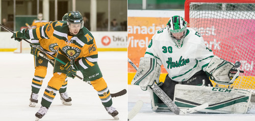 CW three stars: Sanford, Vance impress on the ice