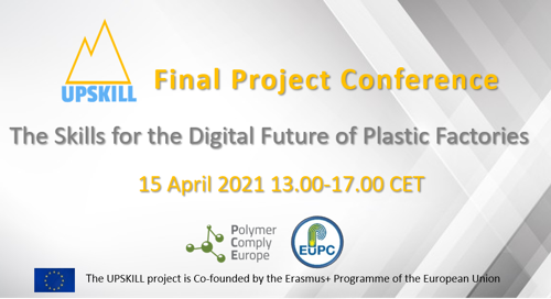 Preview: Final Conference: The Skills for the Digital Future of Plastic Factories - UPSKILL