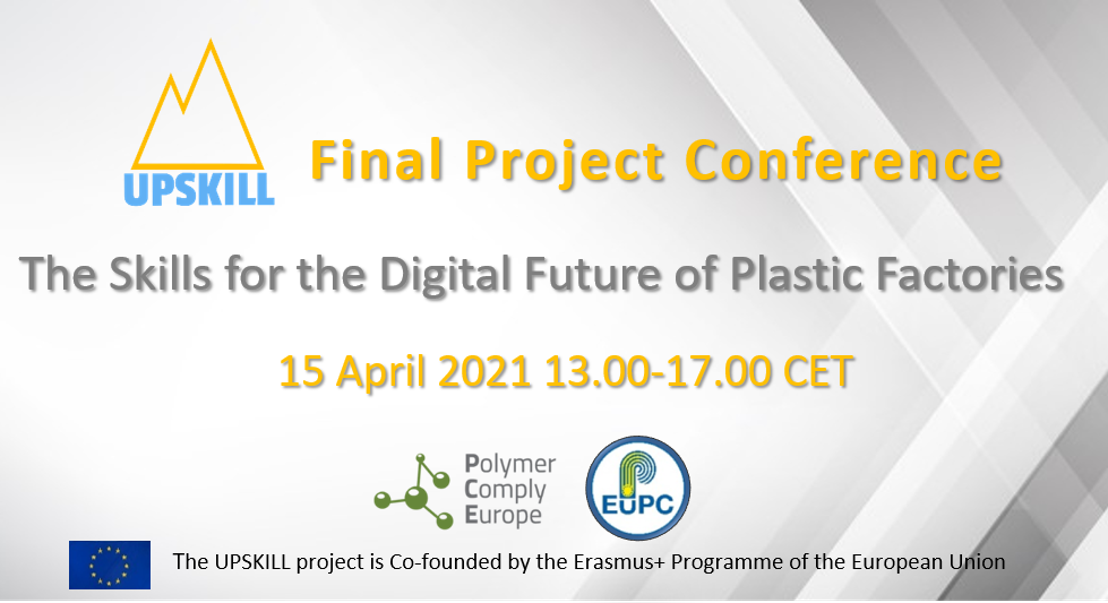 Final project conference: The Skills for the Digital Future of Plastic Factories - UPSKILL