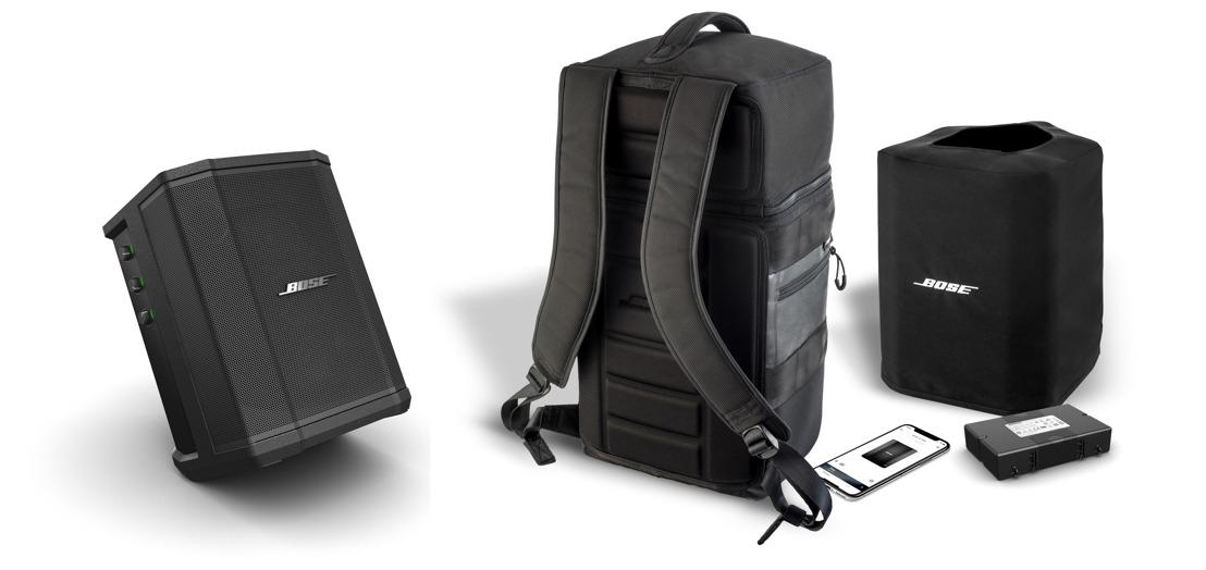 Mayor autonomía y libertad de movimiento con Bose S1 Pro y su nueva línea de accesorios