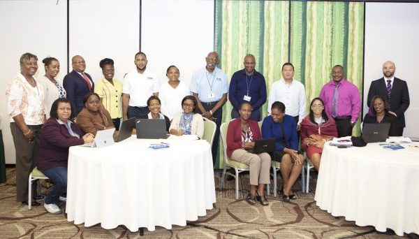 The MSEA/IA Workshop, held at the Accra Beach Resort in Barbados, included participants from eight Caribbean countries.