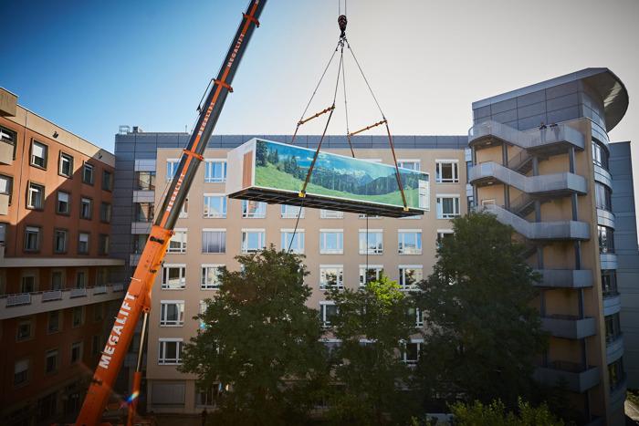 Siemens Healthineers plaatst MRI-scanner in containermodule bij Centre Hospitalier Luxembourg