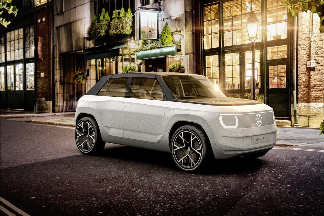 De ID. LIFE: Volkswagen presenteert de intrede van de elektrische auto in het segment van de kleine voertuigen