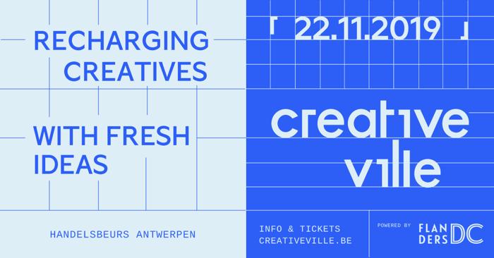 Volledig programma Creative Ville 2019 bekend:
