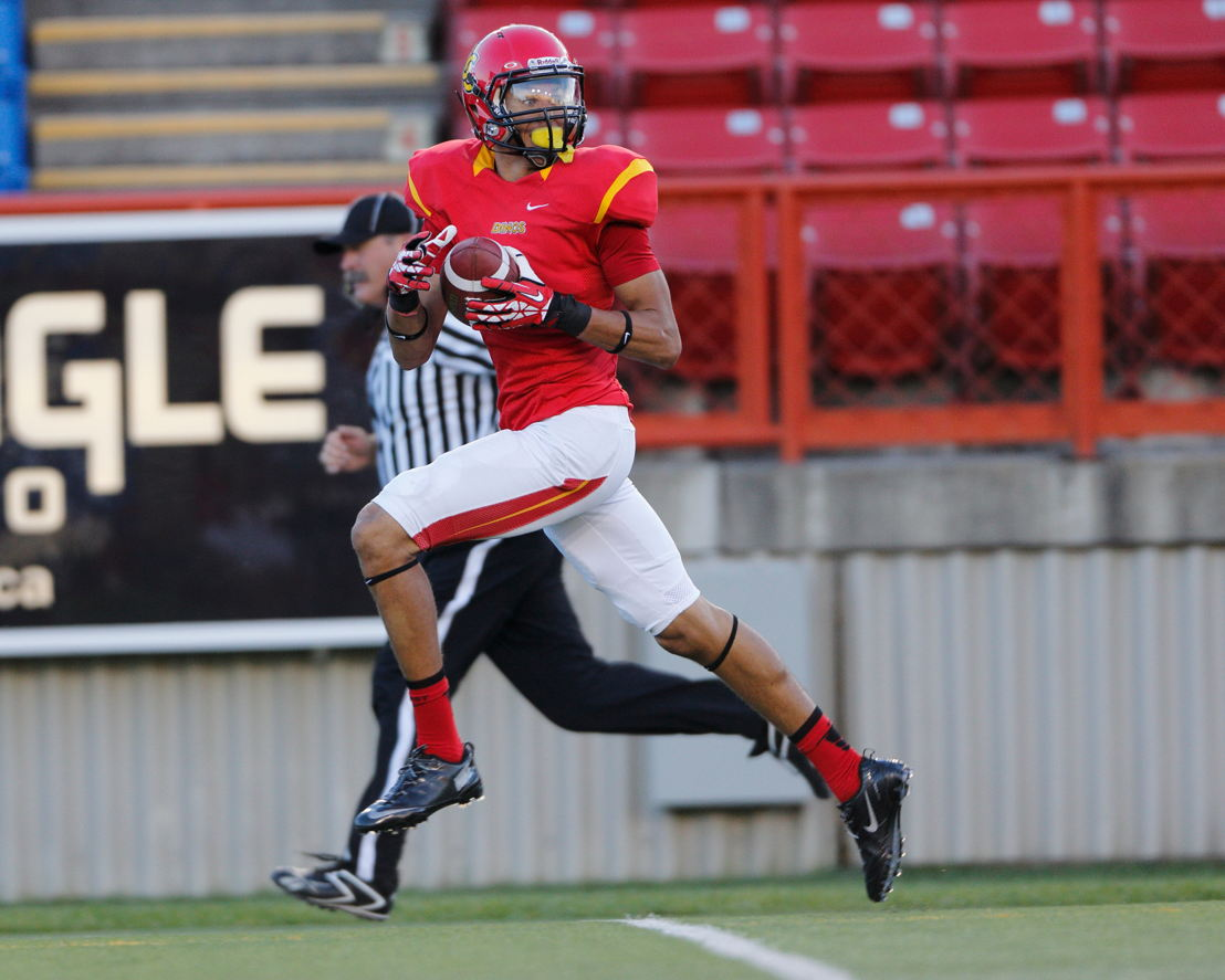 7. Rashaun Simonise (Photo credit: University of Calgary Athletics)