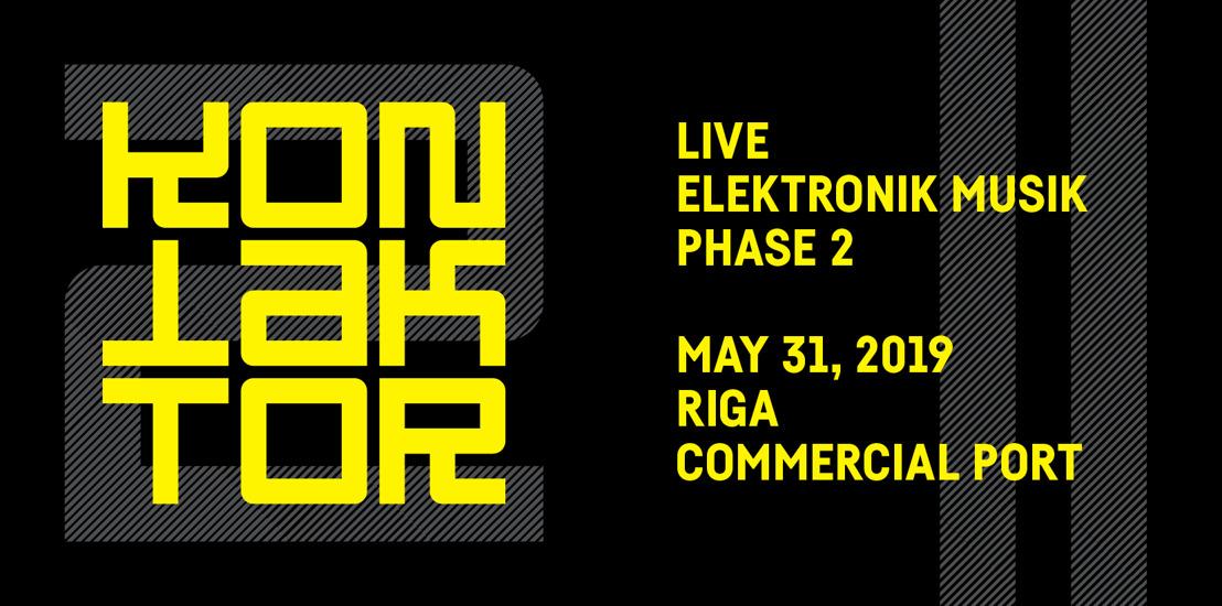 Erica Synths Announces Live Electronic Music Festival: KONTAKTOR 2019