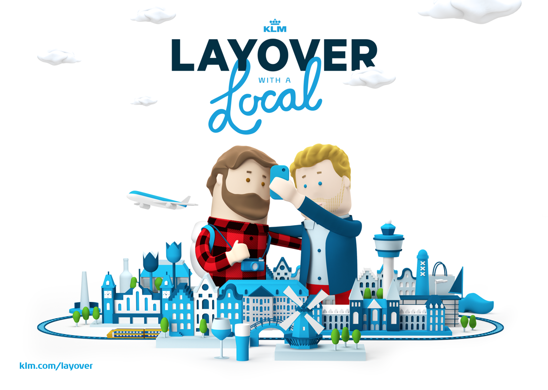 Achtung! lanceert Layover with a Local voor KLM