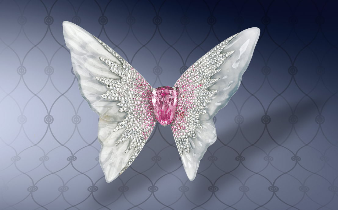Moussaieff Butterfly Brooch