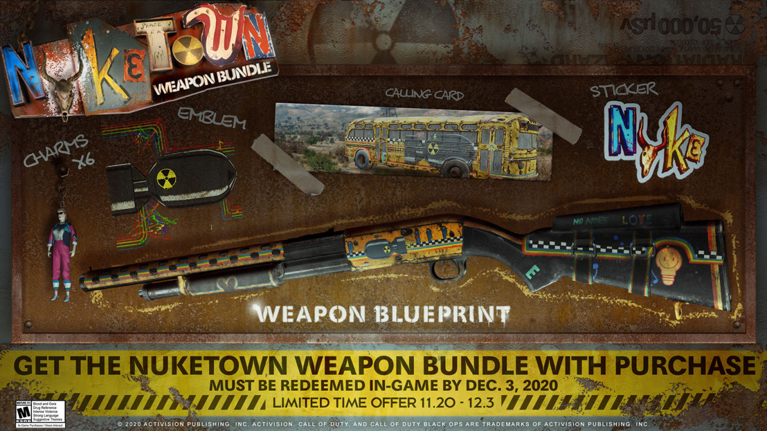 Obtén el Paquete de Armas de Nuketown gratis con Call of Duty®: Black Ops Cold War