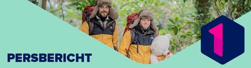 Down the snow: hartverwarmende ontvangst voor Dieter Coppens en Kevin in Kortrijk