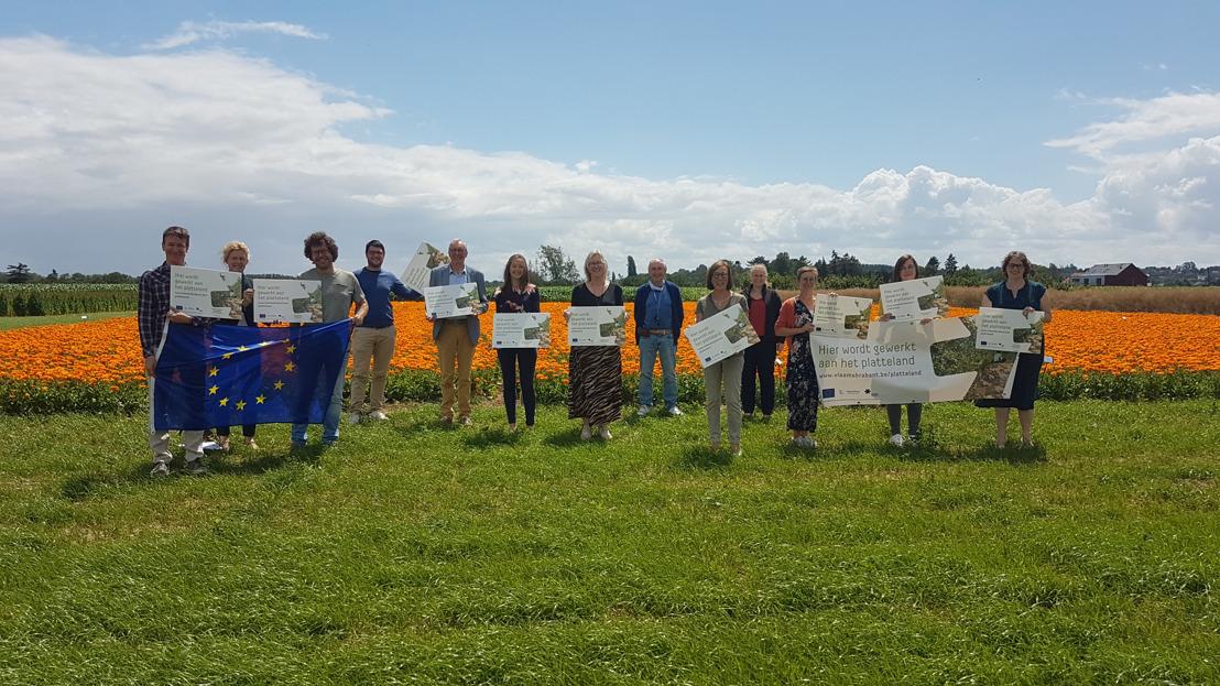 1.381.000 euro voor 10 plattelandsprojecten in Vlaams-Brabant
