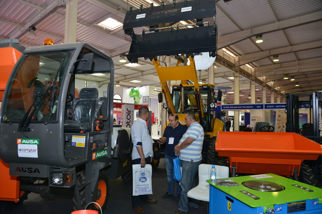 Products on display at The Big 5 Construct North Africa 2017