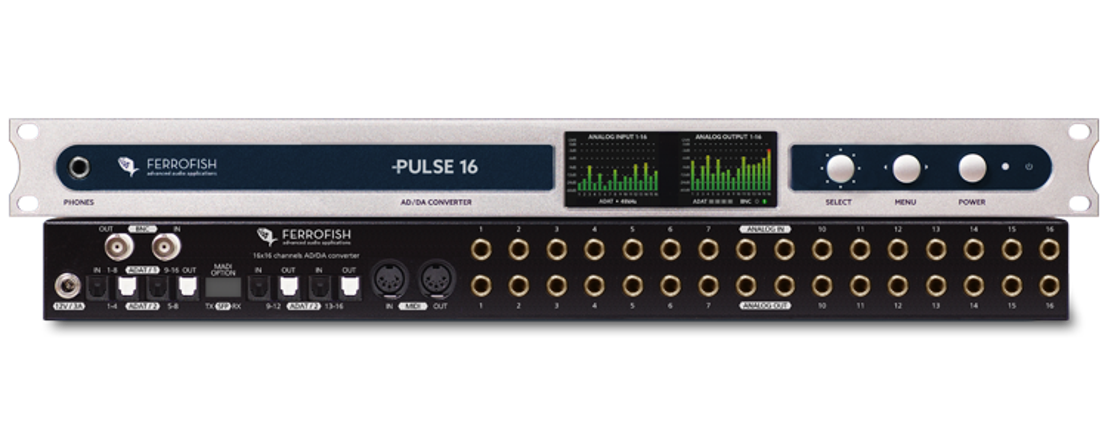 Ferrofish to Showcase PULSE16, PULSE16 MX Recording Interface at NAMM 2018