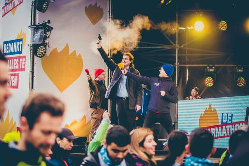 11 000 lopers geven alles op de derde Warmathon in Gent