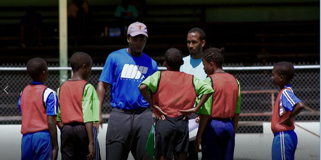 OECS Campaign on Child abuse in Sport - Screenshot of the video Promo about football final 2