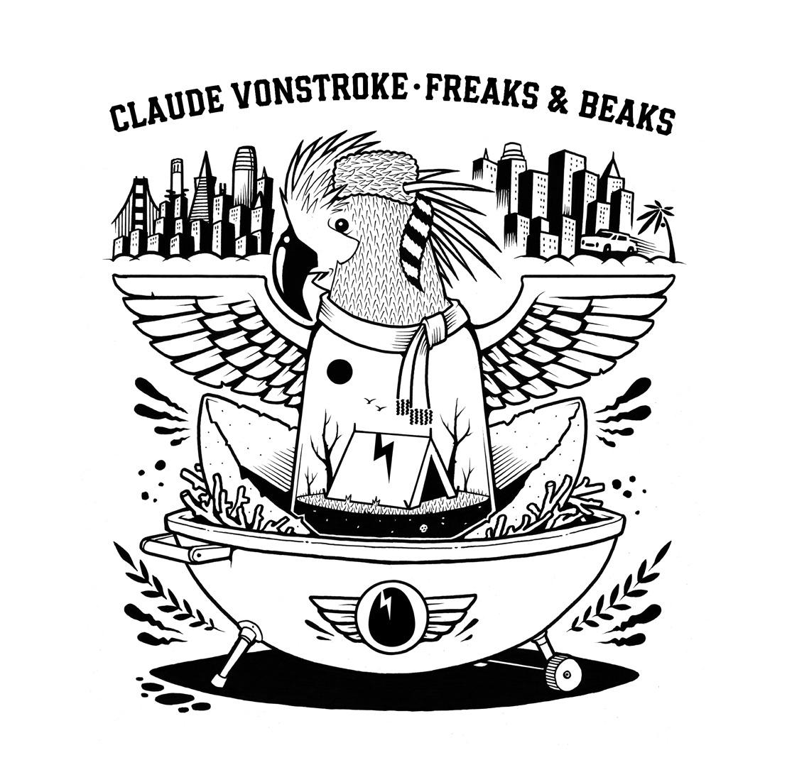 CLAUDE VONSTROKE CELEBRATES 15 YEARS OF DIRTYBIRD WITH FOURTH ALBUM 'FREAKS & BEAKS'