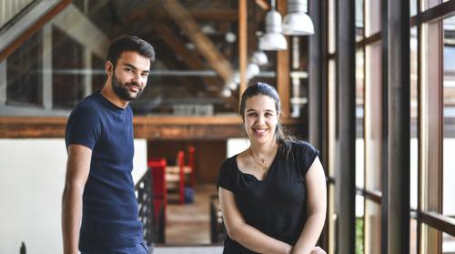 Bienvenue à Marisa & Julien, nouveaux stagiaires chez DDB.