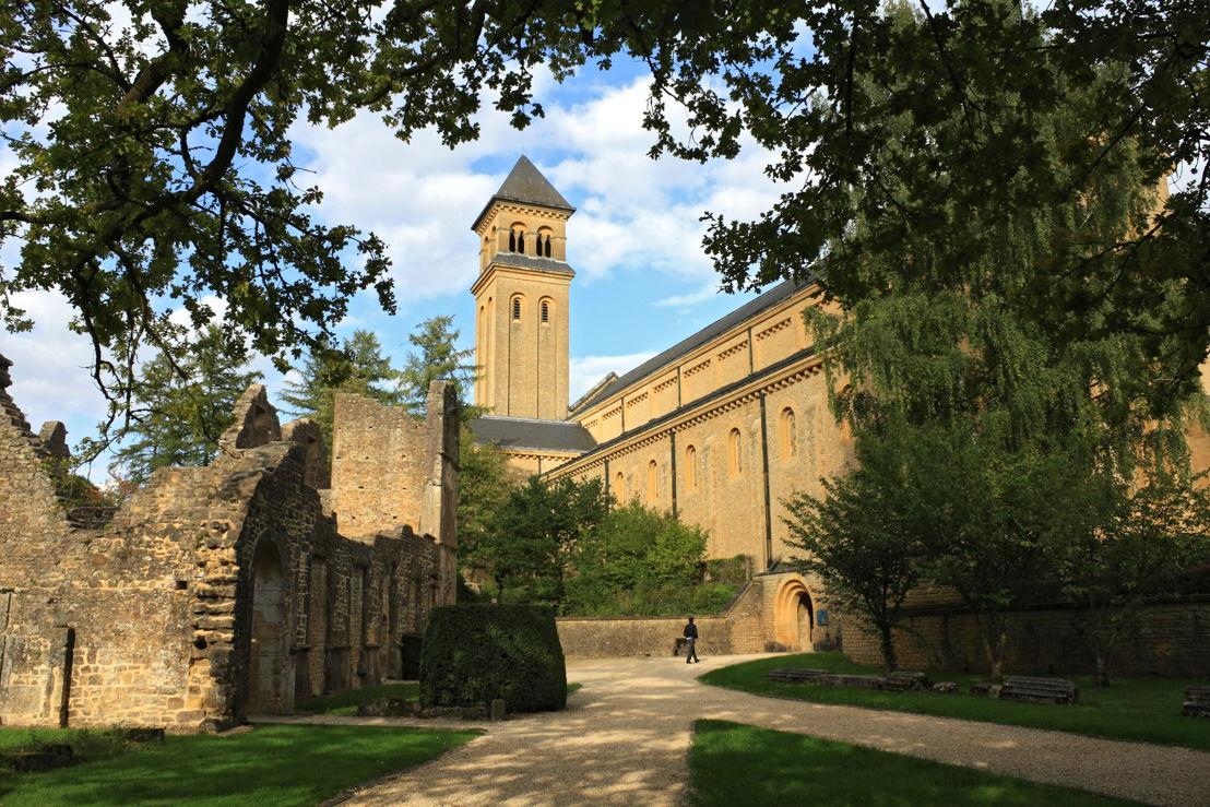Belgium: Orval Abbey