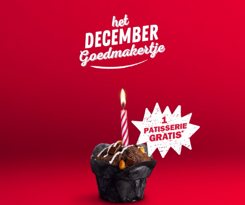 "Quick en Happiness lanceren ""Het December Goedmakertje"" voor wie jarig is in december!"