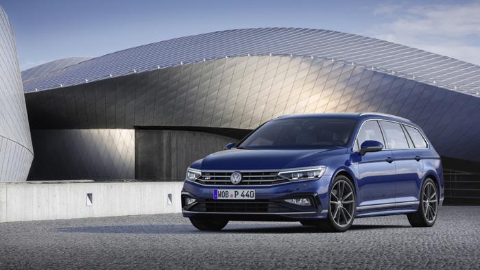 La Passat sera la première Volkswagen à rouler à sa vitesse de croisière en mode partiellement automatisé