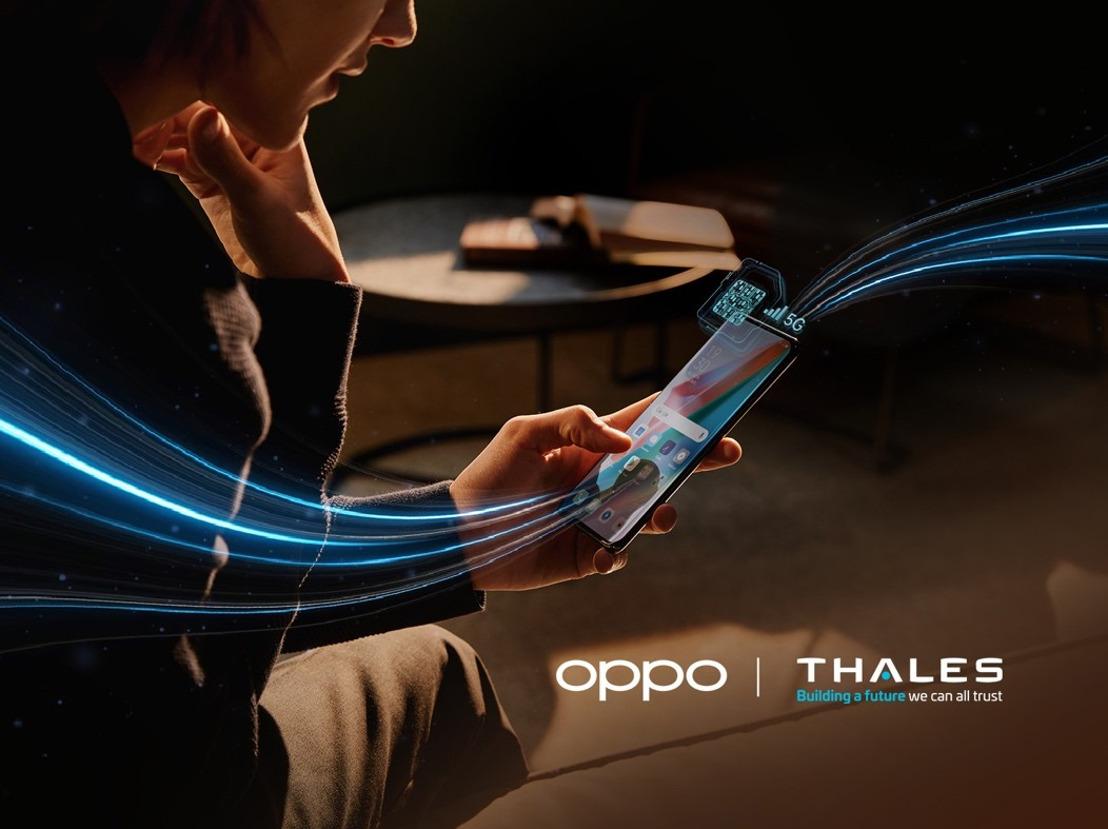 OPPO s'associe à Thales pour la première eSIM compatible 5G SA