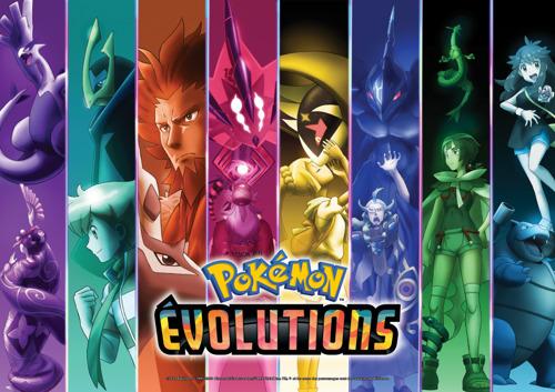La série animée Pokémon Évolutions dévoilée pour l'anniversaire des 25 de Pokémon