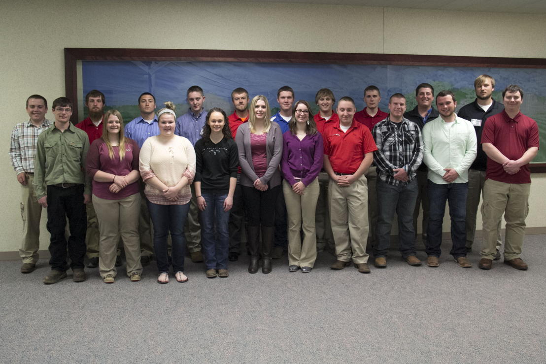 GROWMARK's Exploring Agriculture Intern spring class of 2015.