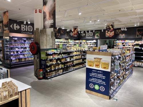 Le Carrefour Market d'Etterbeek fait peau neuve : un Market nouvelle génération
