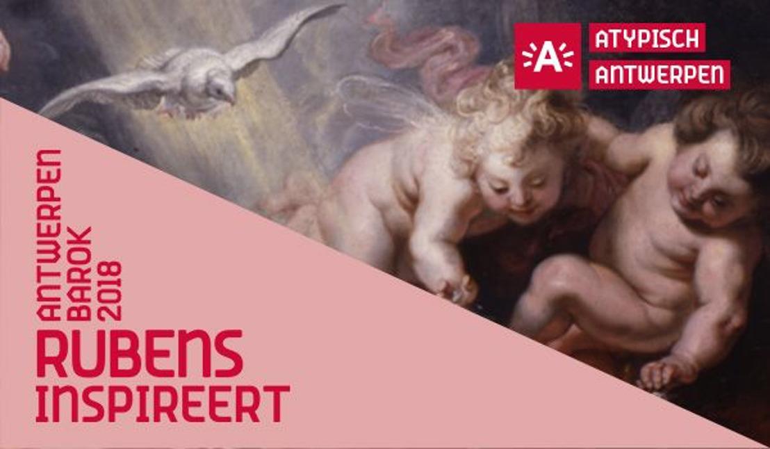 08.02.18 La vente de billets visites guidées et de promenades 'Antwerp Baroque 2018' est ouverte