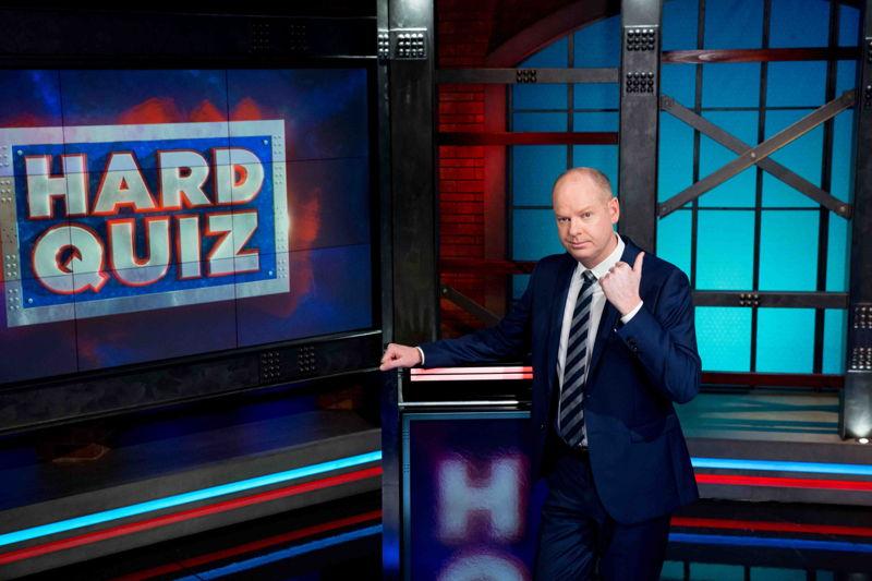 Hard Quiz Host - Tom Gleeson