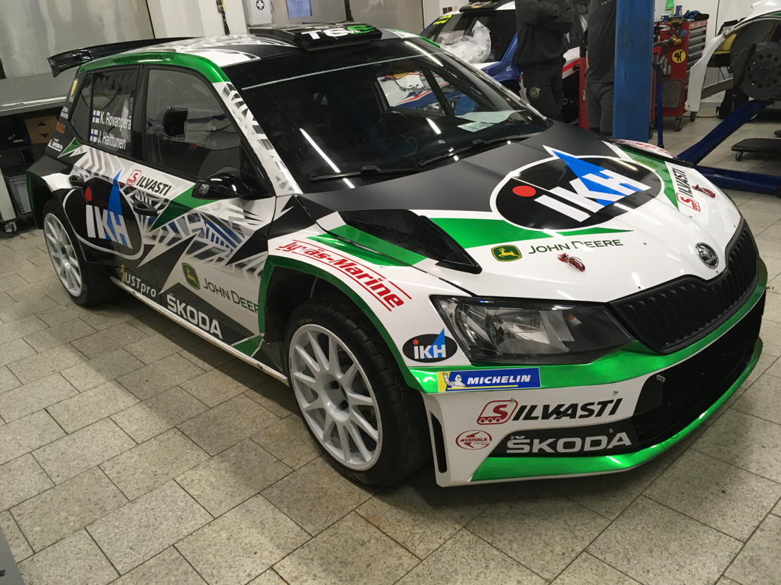 Rallye Monte-Carlo: ŠKODA's Kalle Rovanperä heads 31 crews strong entry of R5 cars