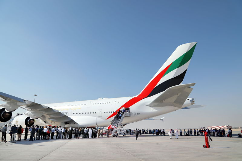 Over 27,000 people visited and experienced the full family of Emirates' commercial, training and executive aircraft on display at the Dubai Airshow this year.