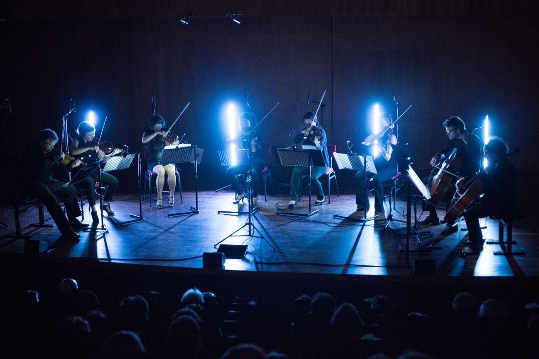 Opening Quatuor Bozzini en Oerknal! (c) Anna van Kooij