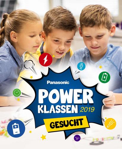 """Die neue Schulaktion von Panasonic: """"Power-Klassen 2019 gesucht!"""""""