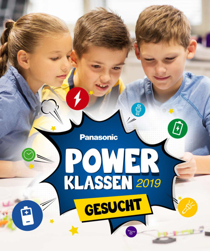 "Pedagogy prevails in Panasonic's new school program: ""Power Classes 2019 Wanted!"""