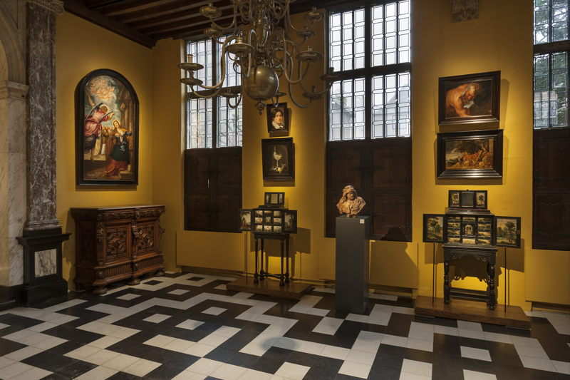 David Bowie's Tintoretto in situ@Ans Brys